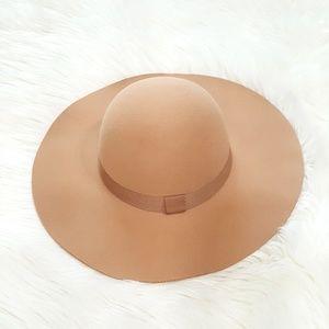 August Hat Company Felt Wide Brim Floppy Hat